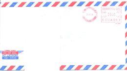 1998. Ecuador, The Letter Sent  Air-mail Post To Moldova - Ecuador