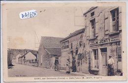 GIGNY- CAFE-TABAC JENTY - Frankrijk