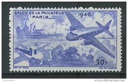 VEND VIGNETTE DU SALON DE LA PHILATELIE 1946 , NEUF SANS CHARNIERE !!!! (b) - Commemorative Labels