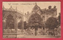 Vilvoorde - Le Kiosque Et L'Hôtel De Ville - 1921 ( Verso Zien ) - Vilvoorde