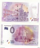 BILLET TOURISTIQUE ZERO EURO  TOUR MAGNE à NIMES   NEUF SUPERBE - EURO