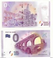 BILLET TOURISTIQUE ZERO EURO  LE PONT DU GARD  NEUF SUPERBE - EURO