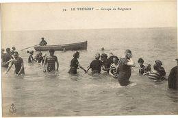 LE TREPORT -  Groupe De Baigneurs   175 - Le Treport