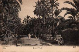 ALGERIE - DANS L'OASIS - Scènes & Types