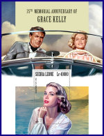SIERRA LEONE 2017 MNH** Grace Kelly F. Sinatra C. Grant S/S - OFFICIAL ISSUE - DH1801 - Kino