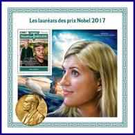 TOGO 2017 MNH** Nobel Prize Winners Nobelpreisträger Nobel Prix 2017 S/S - OFFICIAL ISSUE - DH1801 - Nobelpreisträger