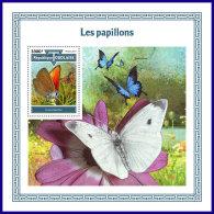 TOGO 2017 MNH** Butterflies Schmetterlinge Papillons S/S - OFFICIAL ISSUE - DH1801 - Schmetterlinge