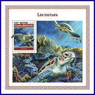 TOGO 2017 MNH** Turtles Schildkröten Tortues S/S - OFFICIAL ISSUE - DH1801 - Schildkröten