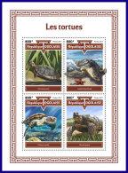 TOGO 2017 MNH** Turtles Schildkröten Tortues M/S - IMPERFORATED - DH1801 - Schildkröten