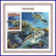 TOGO 2017 MNH** Turtles Schildkröten Tortues S/S - IMPERFORATED - DH1801 - Schildkröten