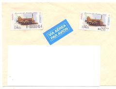 2001. Spain,  The Letter Sent By Registered Air-mail Post To Moldova - 2001-10 Storia Postale