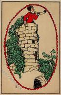 Wiener Werkstätte Löffler 621, Postalisch Verwendet (USA) II - Illustrators & Photographers