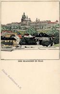 Wiener Werkstätte Nr. 264 Sign. Diveky, Josef Der Hradschin In Prag I- - Illustrators & Photographers