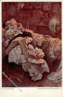 Mucha, A. Die Seligpreisungen Künstlerkarte 1912 I-II - Illustrators & Photographers