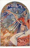 Mucha, A. Jugendstil Künstlerkarte I-II Art Nouveau - Illustrators & Photographers