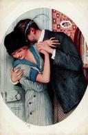 Kirchner, R. Dans Les Petits Cheveux Du Cou Künstlerkarte I-II - Kirchner, Raphael