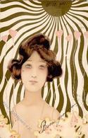 Kirchner, R. Frau Jugendstil  Künstlerkarte 1901 I-II Art Nouveau - Kirchner, Raphael