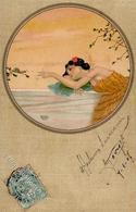 Kirchner, R. Frau Jugendstil  Künstlerkarte 1907 I-II Art Nouveau - Kirchner, Raphael