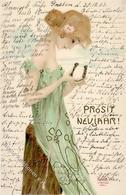 Kirchner, R. Frau Jugendstil TSN-Verlag 235 Künstlerkarte 1903 I-II Art Nouveau - Kirchner, Raphael