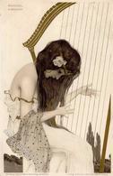 Kirchner, R. Frau Jugendstil TSN-Verlag 99 Künstlerkarte 1902 I-II Art Nouveau - Kirchner, Raphael