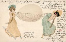 Kirchner, R. Frauen Jugendstil TSN-Verlag 222 Künstlerkarte 1902 I-II Art Nouveau Femmes - Kirchner, Raphael
