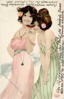 Kirchner, R. Frauen Jugendstil TSN-Verlag 235 Künstlerkarte 1902 I-II Art Nouveau Femmes - Kirchner, Raphael
