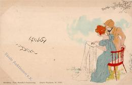 Kirchner, R. Jugendstil TSN-Verlag 5535 Künstlerkarte 1899 I-II (fleckig) Art Nouveau - Kirchner, Raphael