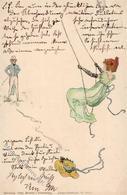 Kirchner, R. Jugendstil TSN-Verlag 5541 Künstlerkarte I-II Art Nouveau - Kirchner, Raphael