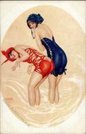 Kirchner, R. La Mer Fleurie Künstlerkarte I-II - Kirchner, Raphael