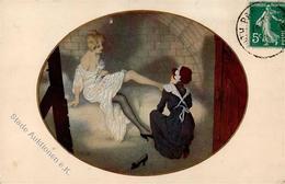 Kirchner, R. Les Zeppelins A Paris  Künstlerkarte 1916 I-II - Kirchner, Raphael