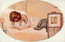 Kirchner, R. Lettre De L'Aime Künstlerkarte I-II - Kirchner, Raphael