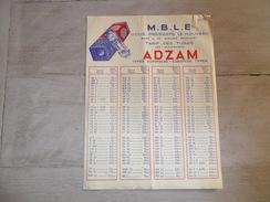 Document ( 207 )  Reclame  Publicité  -  Prijslijst  Lamp  Lampe ADZAM - Reclame