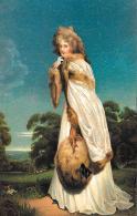 [DC11357] CPA - SIR THOMAS LAWRENCE - BILDNIS DER COUNTESS OF DERBY (MISS FARRREN) - Non Viaggiata - Old Postcard - Pittura & Quadri