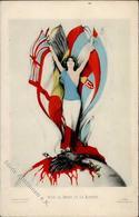 Kirchner, R. Pour Le Droit Et La Liberte Künstlerkarte I-II - Kirchner, Raphael