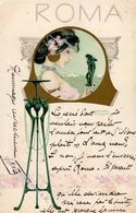 Kirchner, R. Roma Jugendstil TSN-Verlag 220 Künstlerkarte 1902 I-II Art Nouveau - Kirchner, Raphael