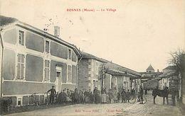 - Meuse -ref-A685- Rosnes - Le Village - Carte Bon Etat - - Francia