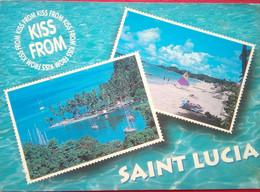 Saint Lucia - Postcards