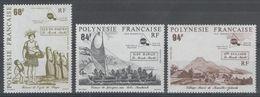 POLYNESIE:  N°379/381 **       - Cote 76,20€ - - Polynésie Française