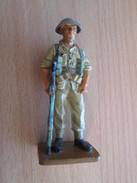 Figurine Métal DEL PRADO Guerre 39/45 65 Mm : SOLDAT BRITANNIQUE - Army