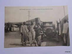 Bathurst-A Tola Woman With Two Different Loads - Gambie
