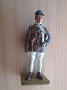 Figurine Métal DEL PRADO Guerre 39/45 65 Mm : OFFICIER DE CHARS FRANCE 1940 - Army