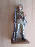 Figurine Métal DEL PRADO Guerre 39/45 65 Mm : CRIMINEL DE GUERRE ITALIEN ABYSSINIE 1935 - Army