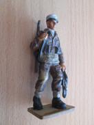 Figurine Métal DEL PRADO Guerre 39/45 65 Mm : LEGION ETRANGERE FRANCE 1942 BIR-HAKEIM - Army