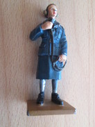 Figurine Métal DEL PRADO Guerre 39/45 65 Mm : ANGLETERRE 1942 CONTROLEUSE AERIENNE - Army