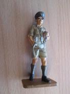 Figurine Métal DEL PRADO Guerre 39/45 65 Mm : ANGLETERRE 1941 1942 DESERT ARMY - Army