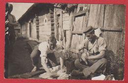 Belarus -- Region Pripjetsümpfen  -- Carte Photo  -- Soldats Allemands -- Garde Kavalerie Div  - 30/9/1916 - Belarus