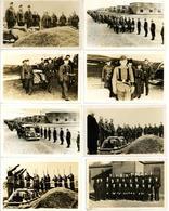 Kriegsgefangene Kanada, Ottawa Lager 133 Lot Mit 8 Foto-Karten I-II - Militaria