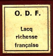 1 Film Fixe LACQ Richesse Francaise (ETAT TTB ) - 35mm -16mm - 9,5+8+S8mm Film Rolls