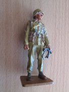 Figurine Métal DEL PRADO Guerre 39/45 65 Mm : ALLEMAGNE AFRIKA KORPS 1942 - Army
