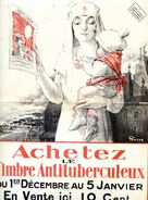 Affiche - Achetez Le Timbre Antituberculeux 1927 1928 - Affiches